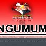 SURAT EDARAN GUBERNUR NO. 003.1/2928/PK/BKD Tentang Perubahan Hari Libur Nasional dan Cuti Bersama